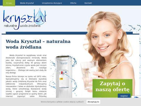 Firma Kanig Dystrybutor woda