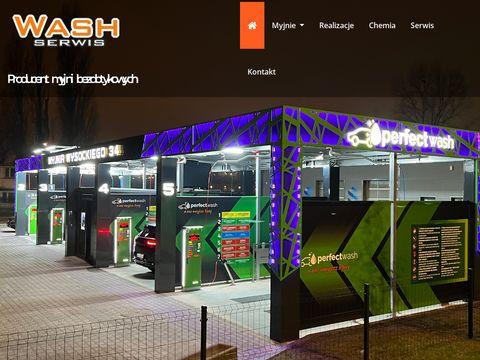 Washserwis.pl budowa myjni samochodowych