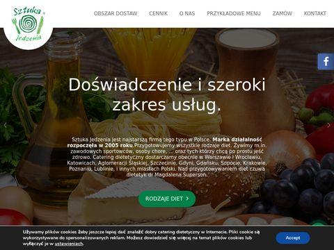Warszawa catering dietetyczny