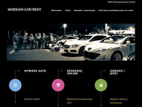 Warsaw-car-rent.pl wynajem aut