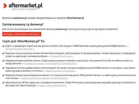 Waluteria.pl - wymiana walut online