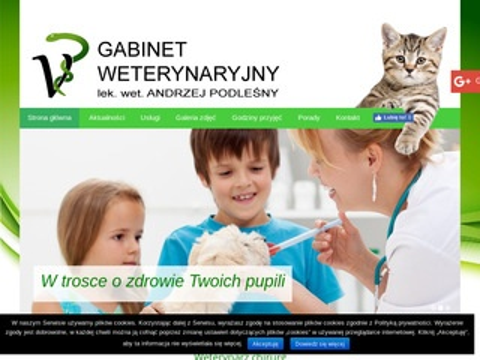 Andrzej Podleśny dobry weterynarz