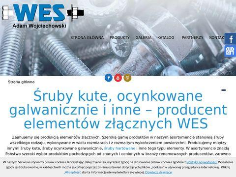 Wes.net.pl śruby ocynkowane ogniowo