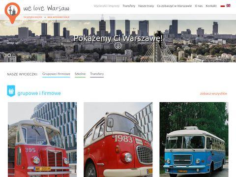 We love Warsaw - wycieczki po Warszawie