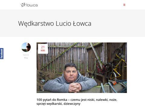 Wedkarstwo.lucio.pl odzież