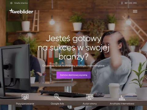 Weblider.pl - reklama w Google