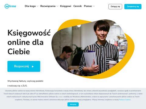 Wfirma.pl - księgowość internetowa