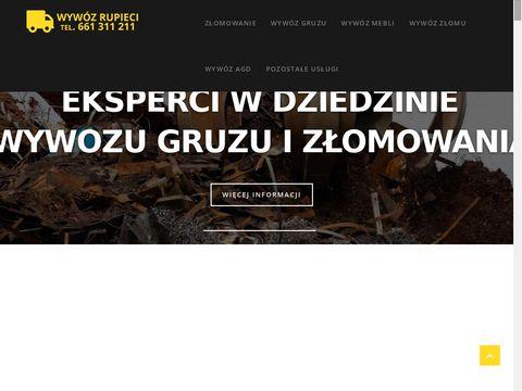Wywozrupieci.pl gruzu i złomowanie