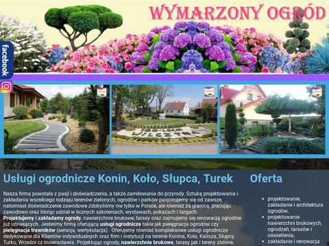Wymarzonyogrod.konin.pl odśnieżanie Konin