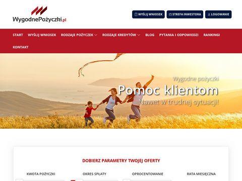 Wygodnepozyczki.pl kredyt online