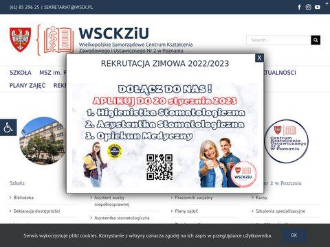 Wsck.pl - szkoły policealne w Poznaniu