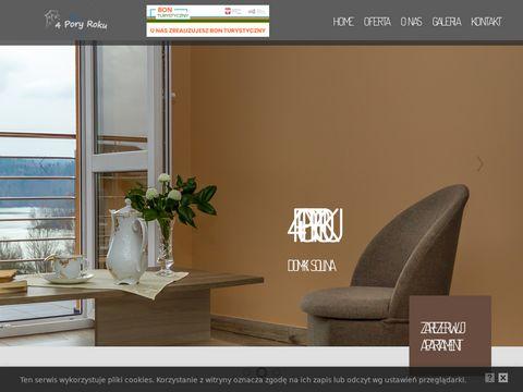 4poryroku.bieszczady.pl domki w Polańczyku nad Soliną