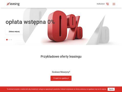 O leasingu wiemy wszystko - xLeasing