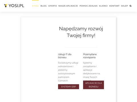 Yosi.pl oprogramowanie ERP dla firm