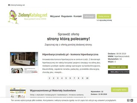 Zielonykatalog.net katalog stron