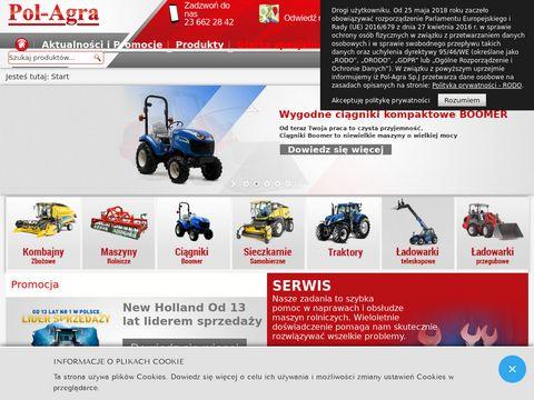 Pol-Agra ciągniki rolnicze new holland