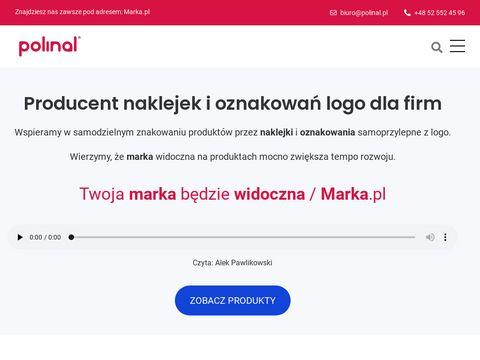 Polinal.pl naklejki wypukłe 3d