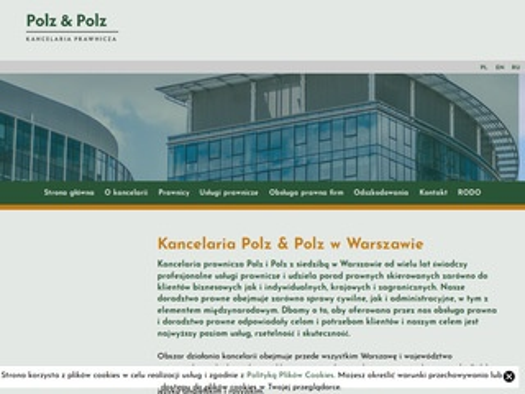 Polzlaw.pl prawnik nieruchomości Warszawa