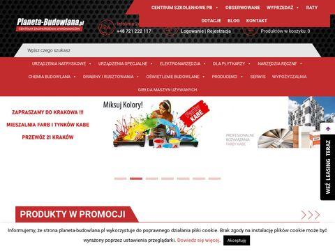 Agregat szpachlarski - planeta-budowlana.pl
