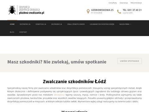 Pluskwa-zwalczanie.pl dezynsekcja