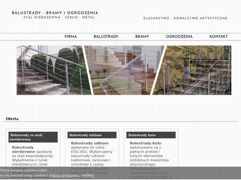 Pk-inox.pl nowoczesne ogrodzenia bramy