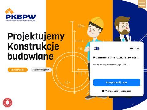 Pkbpw.pl - projekt hali magazynowej