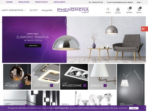 Phenomena-light.pl lampy sklep