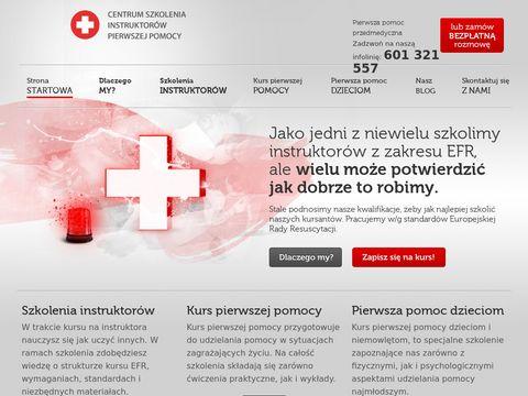 Pierwszapomocprzedmedyczna.pl pomoc dzieciom