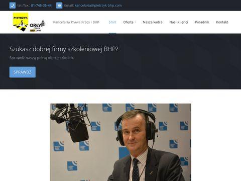 Pietrzyk-bhp.com Lublin