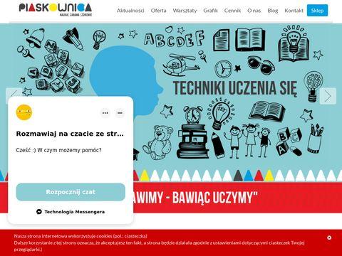 Piaskownica.eu - zajęcia dla dzieci