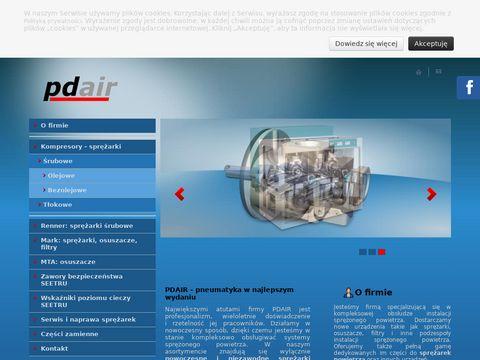 PdAir kompresor serwis