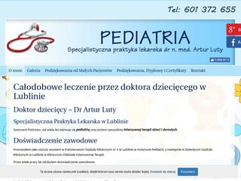 Artur Luty pediatra Lublin