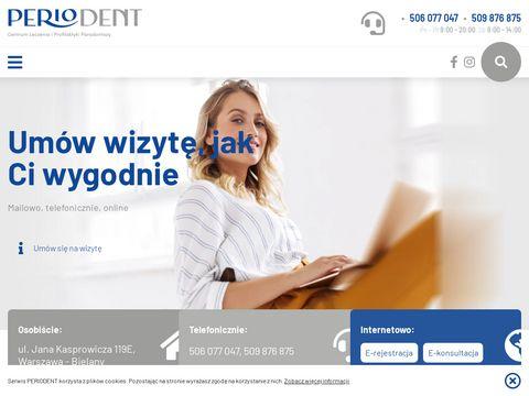 Periodent.com.pl stomatolog Warszawa