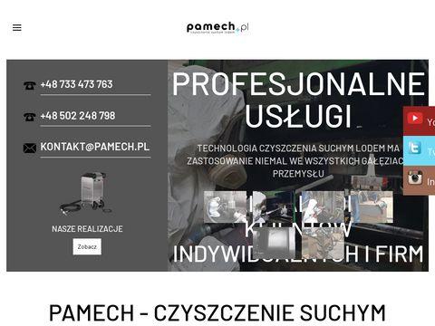 Pamech.pl czyszczenie suchym lodem Szczecin
