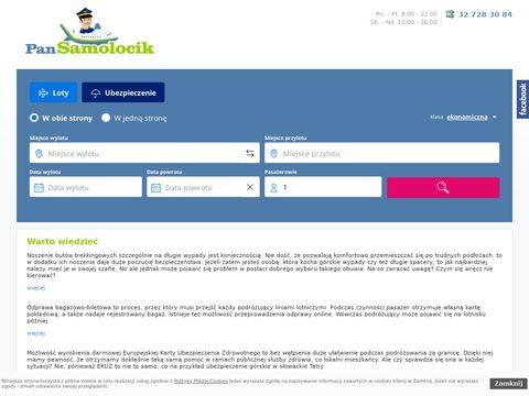 Pansamolocik.pl - Tanie bilety Warszawa