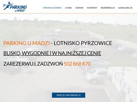 Parkingumadzi.pl pyrzowice parking