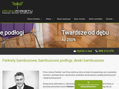 Parkietybambusowe.pl podłogi