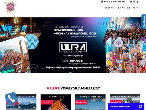 Partycamp.pl - Studenckie wakacje