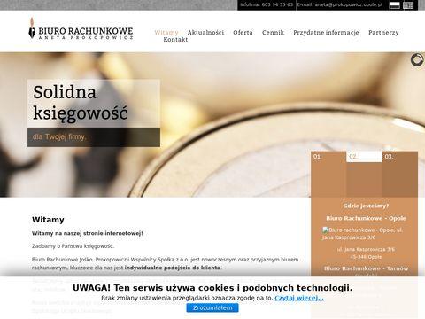 Prokopowicz.opole.pl biuro rachunkowe