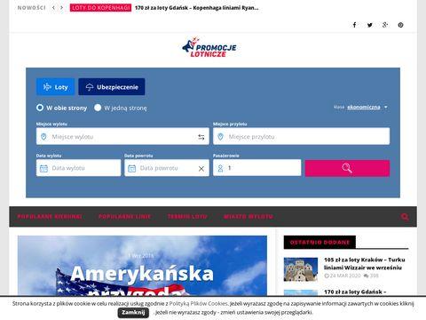 Promocjelotnicze.com.pl najlepsze ceny lotów