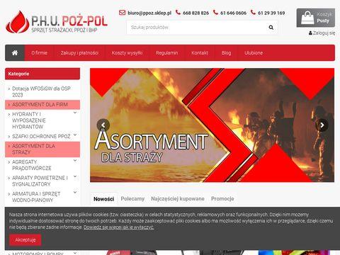 Poż-Pol sprzęt pożarniczy