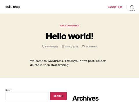 Quik-shop.com czapki DC
