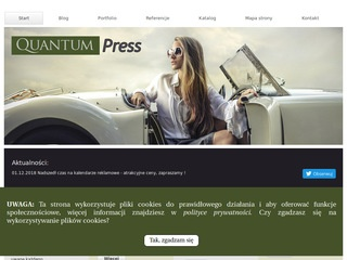 Quantum Press strony internetowe