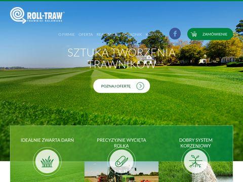 Rolltraw.pl trawnik w rolce