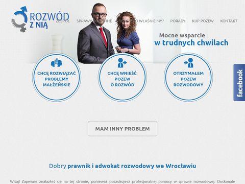 Rozwodznia.pl podział majątku kancelaria Chojka