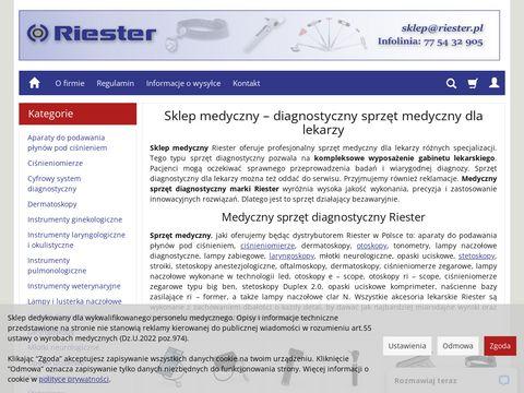 Riester.pl ciśnieniomierze naramienne