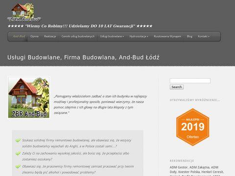 And-Bud firma remontowa Łódź