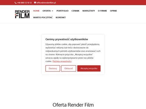 Renderfilm.pl spoty reklamowe produkcja
