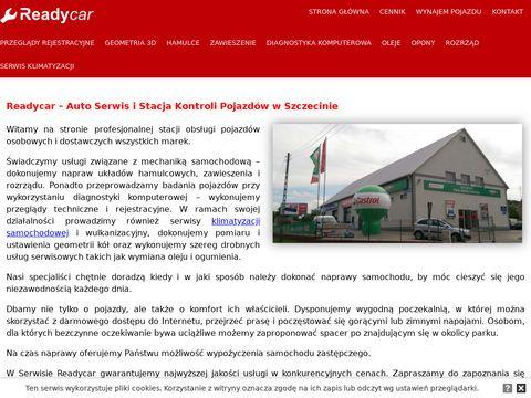 Readycar stacja diagnostyczna Szczecin