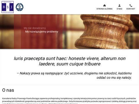 Radcy-lodz.pl kancelarie radców prawnych B i J